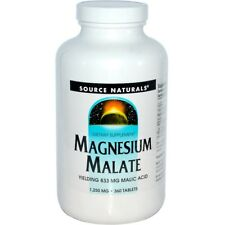 Magnesium Malate, 1,250 mg, 360 Tablets