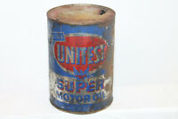 VINTAGE UNITEST SUPER MOTOR OIL QUART AUGUSTA GA