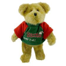 Boyds Bears~GREETY~Dear Santa I Want It All~FREE SHIP!!!