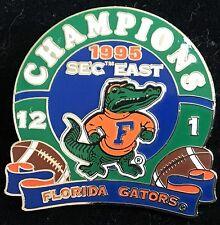 UNIVERSITY OF FLORIDA  GATORS 1995 SEC EAST CHAMPIONS WILLABEE & WARD PIN