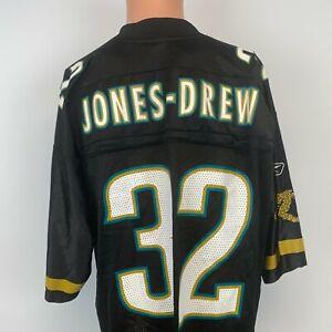 Reebok Maurice Jones Drew Jacksonville Jaguars Replica Jersey Vtg NFL On Field L