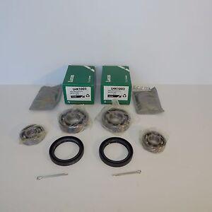 Pair of Lucas Front Wheel Bearing Kits for MG MGA and MG TD, TF
