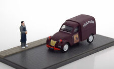 DIORAMA CITROEN 2CV FOURGONNETTE TOLEE FELIX POTIN EDITIONS ATLAS 1/43 DARK RED