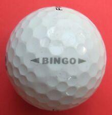 Pelota de golf con logo-bingo-golf logotipo pelota logotipo balones como amuleto/recuerdo