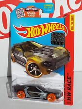 Hot Wheels Factory Set 2015 X-Raycers Series #142 Bullet Proof Black w/ OH5SPs