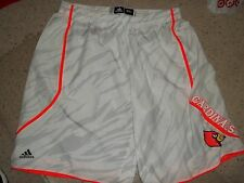 Louisville Cardinals Basketball Gorgui Dieng Game Used Infrared Shorts Final 4