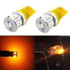 Alla Lighting 6-LED 194 Bright Roof/Side Marker Light Bulb,Amber Parking Lamp,2x