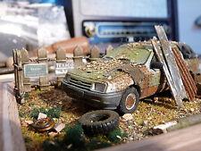 Ford Sierra Turnier Mk I Bj.1982 - Scheunenfund Diorama im Maßstab 1:43