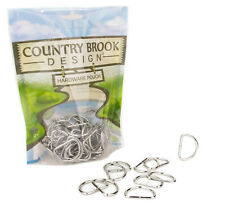 50 - Country Brook Design® 1 Inch Lightweight Welded D-Rings