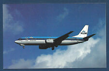 KLM Royal Dutch Airlines B-737 Passenger Jet