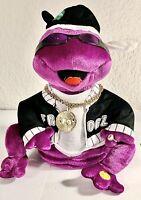 2005 Gemmy Frogz Hip-Hop Dancing Frog 50 CENT~IN DA CLUB~Rock It, Rap It, Ribbit