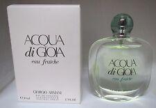 Giorgio Armani ACQUA DI GIOIA Eau Fraiche 1.7 oz/50 ml Eau De Toilette Spray