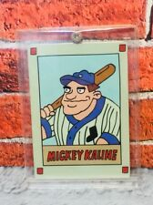 The Nick Box Exclusive Hey Arnold Mickey Kaline Baseball Card SDCC 2017