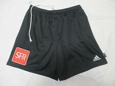 Short porté COUPE DE FRANCE ADIDAS vintage noir SFR football collection XL