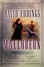 DAVID EDDINGS THE MALLOREON VOLUME 2 BOOKS 1-2 SOFTCOVER TRADE PAPERBACK 6TH ED