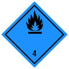 1000 Gefahrgutaufkleber Folie 100x100 mm Toxic Giftige Stoffe ADR Kl 6.1