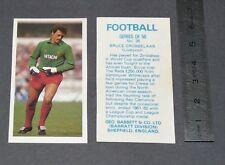 GUM CARD BARRATT BASSETT FOOTBALL 1982-1983 #26 BRUCE GROBBELAAR LIVERPOOL REDS