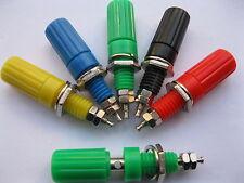 5 x Binding Post For 4mm Banana Plug Connector 5 Color