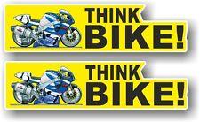 2 un. motocicleta CREE Bicicleta eslogan & Koolart GSXR Superbike Imagen Pegatina de Coche