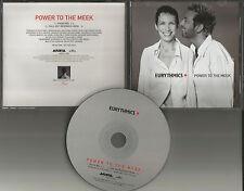 Annie Lennox EURYTHMICS Power to the meek w/ RARE RADIO MIX PROMO DJ CD single