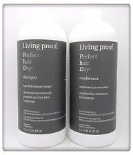 Living Proof Perfect Hair Day Shampoo & Conditioner 32 oz / 1L Duo Sulfate Free