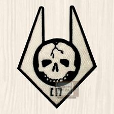 Replica Arm Overwatch Elite Soldier Embroidered Patch Half-life Skull Logo