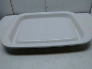 """Littonware Browner Microwave Oven Bacon Grill Tray Plate Pan Liner 14"""" x 11"""""""