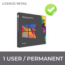 WINDOWS 8 PRO ORIGINAL LICENCE  32 / 64 BIT KEY WIN 8