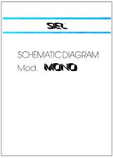SIEL MONO Service Manual repair Schematic Diagrams Schaltplan Schema - New scan