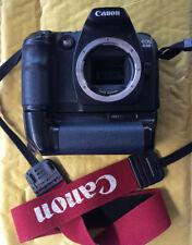Canon EOS 30D Digital SLR Camera & BG-ED3 Battery Grip Sold As Seen