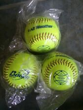 Baden All Weather2Bs11Sy 11 inch Softballs - Three