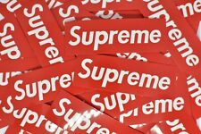 10 BIG Supreme Stickers Waterproof for Hydro Flask Laptop Suitcase Skateboard