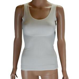XL & 1X Women's White Tummy Control Shaping Cami