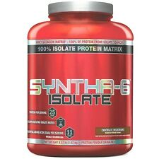 BSN SYNTHA-6 ISOLATE Whey Protein 4 lbs, 48 Servings CHOCOLATE - SALE