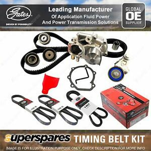 Gates Timing Belt Kit for Mitsubishi Pajero V45W 3.5L 153KW 169KW 3497CC DOHC