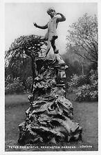 BR59358 peter pan statue kensington gardens london postcard   uk real photo