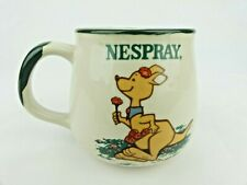 Collectible Vintage NESPRAY Ceramic Kangaroo Coffee Mug Cup. Excellent Condition