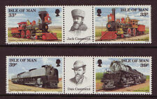Isle of Man 1992 l'Union Pacific Railroad fine utilisé
