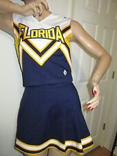 FLORIDA Cheerleader Uniform Outfit Costume 34/25 Real Sunshine State Vacation