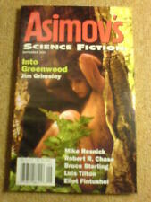 ASIMOV'S (SCI-FI) - JIM GRIMSLEY - Sept 2001
