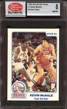 1984 STAR CO. ALL-STAR GAME #7 KEVIN McHALE (DENVER POLICE) CELTICS SCD 8 NM/MT