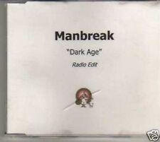 (206I) Manbreak, Dark Age - DJ CD