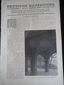 1924 Schwerin Reichsbank Weinbrenner  Ausstellung Karlsruhe