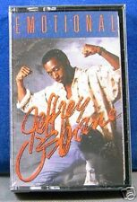 Jeffrey Osborne Emotional 10 track CASSETTE TAPE NEW