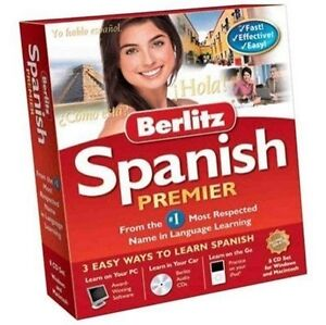 Nova Development Berlitz Spanish Premier for PC, Mac