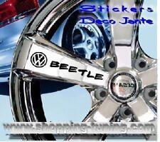 8 STICKER AUTOCOLLANT LOGO JANTE VW VOLKSWAGEN BEETLE