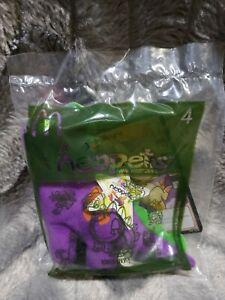 Neopets McDonalds Promo Purple Chomby Dinosaur Mini Plush Toy Sealed In Bag