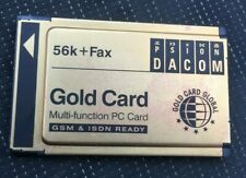 VINTAGE PSION GOLD PCMCIA CARD - 56k +FAX FROM 1990'S