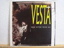 "★★ 12"" Maxi - VESTA - Once Bitten Twice Shy (Extended Version) 6:01 min - A&M 86"