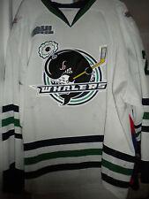 2013-14 Ohl Plymouth Whaler Carter Sandlak Wint Clas Game Worn Hockey Jersey-Loa